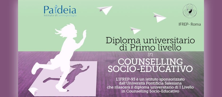 Diploma Universitario di Primo Livello in Counselling Socio-educativo - Ragusa (2019/2020)